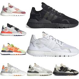 $enCountryForm.capitalKeyWord Australia - Designer nite jogger sneakers men joggers 3M Reflective womens jogging safety triple black white mens trainers breathable tennis shoes 36-45