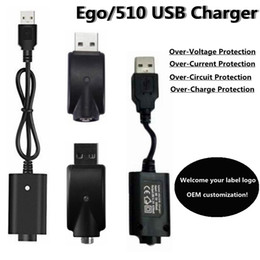 ego t charger cable Australia - Electronic cigarettes Short Long eGo USB Charger USB Cables for ego 510 Thread evod ego-t ego C twist vision spinner 2 3 mini battery