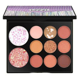 eye shadow for black women UK - Cosmetics Eye Shadow Waterproof and Sweatproof Shining Colorful Eye Shadow Tray Powder for Woman (Antumn Leaves)