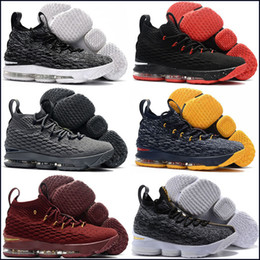 47465a7e55db 2019 cheap Ashes Ghost Florale quality Lebrons 15 Basketball Shoes men Lebron  shoes Sneaker 15s Mens sports Shoes James 15 us 7-12