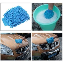 $enCountryForm.capitalKeyWord Australia - Car wash glove ultrathin microfiber chenille fiber towel car cleaning care detailing for automobiles home glove