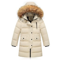 $enCountryForm.capitalKeyWord Australia - ARLONEET Autumn winter Kids Girls boys Faux Fur Hooded Parka Down Coat Puffer Jacket Padded Overcoat Hoodie Thick Outerwear CA20