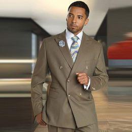 ClassiC suits for men online shopping - Hot Sale Peak Lapel Wedding Tuxedos Slim Fit Suits For Men Groomsmen Suit Two Pieces Cheap Prom Formal Suits Jacket Pants Tie