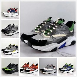 Sport ShoeS 3d online shopping - 2019 new D reflective canvas and calfskin sports shoes from Europe Trendy fashion sports B22 men s technical running shoes