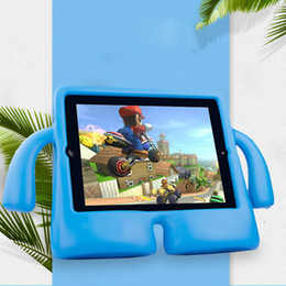 Foam case For tablet online shopping - Children Kids Shockproof EVA Foam Stand Protective Tablet Case For iPad Mini New iPad Pro PCC079