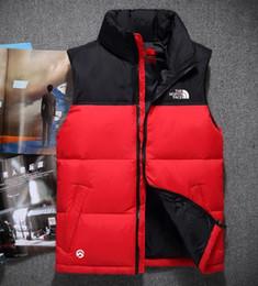Women s formal vest online shopping - 2019 new down jacket vest sleeveless jacket down vest outdoor sports Parkas jacket high quality Parkas Hooded down vest