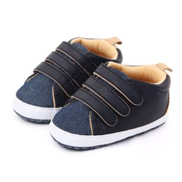 moccasins for baby girls 2019 - Infant Baby Boy Girl Shoes Sole Soft Canvas Solid Footwear For Newborns Toddler Crib Moccasins 3 Colors Available cheap