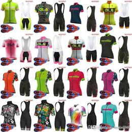 Lycra Sports NZ - Women ALE team Cycling Short Sleeves jersey bib shorts sets Breathable Mtb Bike Sport Quick Dry Ropa Ciclismo Lycra 9D gel pad F2213