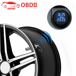 Battery Monitoring Australia - Tire Built-in TPMS TS61 Tire Pressure Monitoring System Tool Wireless Real-time Cigarette Lighter Plug Temperature Gauge