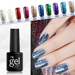nail manicure home 2019 - Gel Nail 8ml Polish 1 Polish etc Soak Fashion Home UV x Profession Off Art Glitter Nail LED Shop Manicure Plastic cheap
