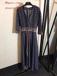 $enCountryForm.capitalKeyWord Canada - 2019 Hot sale maxi dresses Deep V-neck printed backless skirt brand women clothes high quality women jumpsuits Long Jupe summer dresses