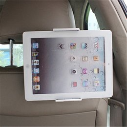 Ipad seat mount online shopping - Universal Car Holder Back Seat Tablet Car Holder Mobile Phone Tablet Mount Bracket Stand For iPhone iPad Samsung Xiaomi Huawei