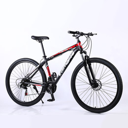 24 inch bicycle Australia - 29 inch 21 24 27 variable speed Double disc brake Mountain Bike aluminum alloy frame adult student Mountain Bicycle