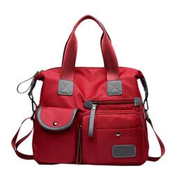 $enCountryForm.capitalKeyWord UK - Nylon Oxford Waterproof Handbag Shoulder Bag Large Capacity Fashion Style Crossbody Casual Messenger Bag