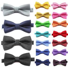 $enCountryForm.capitalKeyWord Australia - Children Fashion Formal Cotton Bow Tie Kid Classical Dot Bowties Colorful Butterfly Wedding Party Pet Bowtie Tuxedo Ties Boy