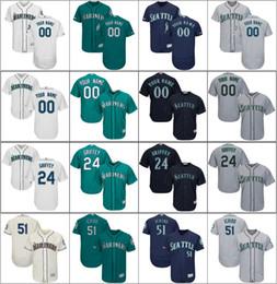 $enCountryForm.capitalKeyWord Canada - Men Seattle Cheap New Mariners Ichiro 51 Suzuki Ken 24 Griffey Jr. White Navy Gray Jersey Cool Flex Base Player Custom Baseball Jerseys