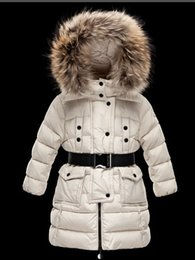Wholesale military winter jackets for sale – winter 2019 Children s Girl women boy Jacket Parkas Coat With Hood For Girls Warm Thick Down Jackets Kids Hooded Real Fur Winter Coats