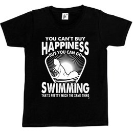 Wholesale buy classic shirts for sale – custom You Can t Buy Happiness But You Can Go Swimming T Shirt Classic Quality High t shirt