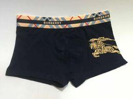 Wholesale new boxer briefs resale online - New Men underwear Brand Boxer Fashion Tide Brand Men Underwear Men s Boxer Briefs Casual Undershorts for Men color M XXL
