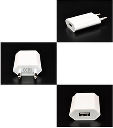 5v 1a Usb Charger Eu Plug Australia - Tablets Travel Charger Universal EU Plug USB Power adapter 5v 1A USB Wall Charger Adapter Travel AC Power fast Charging Adapter For iPhone