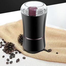 $enCountryForm.capitalKeyWord Australia - 20pcs Electric Coffee Grinder Mini Kitchen Salt Pepper Grinder Powerful Beans Spices Nuts Seeds Coffee Bean Grind Machine DHL