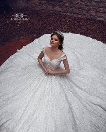 69213745daf Luxury arabic wedding dresses dubai online shopping - Sparkly New Design Luxury  Dubai Arabic Lace Wedding