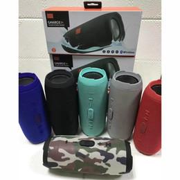 Dual Mobile Audio Australia - Splash proof blue tooth speaker  charge3 plug-in bluetooth speaker mobile power dual diaphragm portable radio free of postage