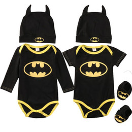Fashion Baby Boys Rompers Jumpsuit Cotton Tops+Shoes+Hat 3Pcs Outfit Clothes Set Newborn Toddler 0-24M Kids Clothes