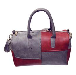$enCountryForm.capitalKeyWord NZ - Women Shoulder Bag Large Tote Bag Women's Quality Leather Handbags for Female Messenger Bag(gray)