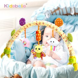 baby rattles Australia - Infant Toys Stroller Hanging Toys For Baby Crib Rattles 0 12 Months Education Developmental Kids Toy For Newborns T200429