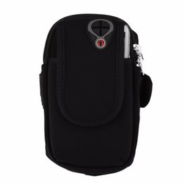 Mobile Gear Australia - Waterproof Mobile Phone Armband Bags Nylon Outdoor Gym Sports Running Gear Wrist Bag Arm Band Holder Pouch Case For Iphone 5 6s #690653
