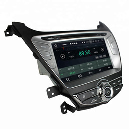 DvD gps elantra anDroiD online shopping - 4GB RAM GB ROM PX5 IPS Android Octa Core din quot Car DVD GPS for Hyundai Elantra With Radio Bluetooth WIFI USB Mirror link