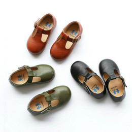 $enCountryForm.capitalKeyWord Australia - 2019 New Spring And Summer Children's Shoes Boys And Girls Casual Shoes Kids Leather Shoes Baby Child Soft Bottom Y19051403