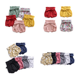 $enCountryForm.capitalKeyWord Australia - Ins Baby Girl Shorts Toddler PP Pants Infant Casual Pants Girls Summer Bloomers Briefs Diaper Cover Underpants 19042902