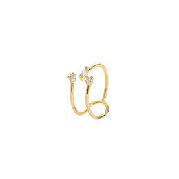 Chic Rings Australia - Ring Female Japanese Korean Chaozhou Student's Indicator Ring Net Red Cold Wind Jumping Di Chic Minimalist Personality Ins Girl Heart