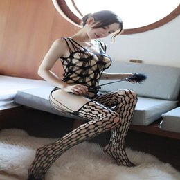 $enCountryForm.capitalKeyWord NZ - Sexy Lingerie Hot Costumes Underwear Sleepwear Open Crotch Socks Stockings Whip Paddle Flirting Feather Adult Games Women x7512