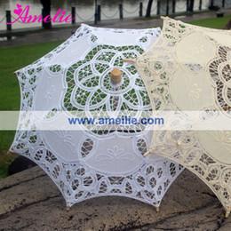 $enCountryForm.capitalKeyWord Australia - Free Shipping Baby Shower Decoration Umbrella Kid's Small Lace Umbrella Parasol Photo Studio