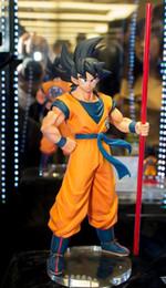 Banpresto Figures NZ - Original Banpresto Dragon ball Z SUPER GOKOU black hair Son Goku THE 20TH FILM LIMITED Figure Juguetes Brinquedos Doll Toy