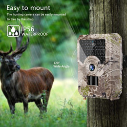 Motion Games Australia - Hunting Camera Photo-Traps 12MP 1080P Infrared Trail Wildlife Scout Guard Game Camera Motion Detection 49pcs Night Vision