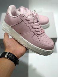 $enCountryForm.capitalKeyWord Australia - Most Hot Sale Genuine Leather Sports Shoes Women Platform Triple Kanye Style Casual Shoes Fashion Popular Boy Girl Trend Sneakers Shoes
