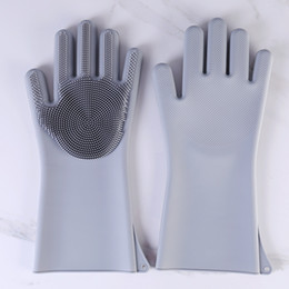 $enCountryForm.capitalKeyWord Australia - Magic Cleaning Brush Kitchen Glove Heat Resistant Resuable Household Scrubber Hair Care Dishwashing Gloves Kitchen Bed Bathroom Tools Gifts1