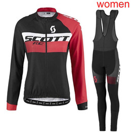 scott bikes UK - 2019 SCOTT team Cycling Jersey Women Breathable Mtb Cycling Clothing Bicycle Shirt bib pants Maillot Ciclismo mountain Bike Clothes Y031902