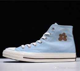 Star Canvas Shoe For Men Australia - Men designers shoes Golf Le Fleur x 70 Hi\\'Burlap\\' one star canvas Sneaker shoes Leather casual Shoes for man dolce