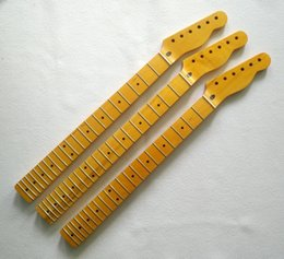 Guitar One Piece Neck Australia - One-piece Canadian Maple neck 8MM head buttonhole 21 retro TL electric guitar