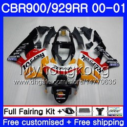 $enCountryForm.capitalKeyWord Australia - Body For HONDA Repsol orange hot CBR900 RR CBR 929 RR CBR 900RR CBR929RR 00 01 279HM.10 CBR 929RR CBR900RR CBR929 RR 2000 2001 Fairings kit