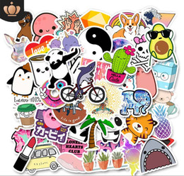 Car body deCal stiCker design online shopping - Lovely Car Stickers and Decals Leisure Designs Decals DIY Decorations for Skateboard Laptop Mobile Phone Car Luggage Motorcycle Computer