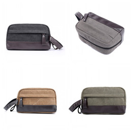 China Cosmetic Bag Shaving Dopp Kits Bags Canvas Travel Package Toiletries Storage Lovers Couple Colors Mix 16tyf1 cheap shaving kits suppliers