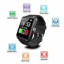 $enCountryForm.capitalKeyWord Australia - 2019 new Android BT V3.0 U8 altimeter anti-lost smart watch Bluetooth smart phone