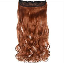 "$enCountryForm.capitalKeyWord UK - Heat Resistant B5 Synthetic Fiber Hairpieces 26"" 65cm 130gr Wavy 5 Clips on Clip in hair Extensions 30 colors"