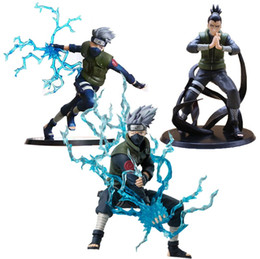 $enCountryForm.capitalKeyWord Australia - 3 Style Anime Naruto Figure Toy Hatake Kakashi Nara Shikamaru Model Doll Christmas Gift for Children 12-16cm
